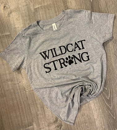 Wildcat Strong Youth & Adult Tee