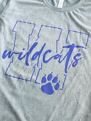 Wildcat W Youth & Adult Hooded Sweatshirt