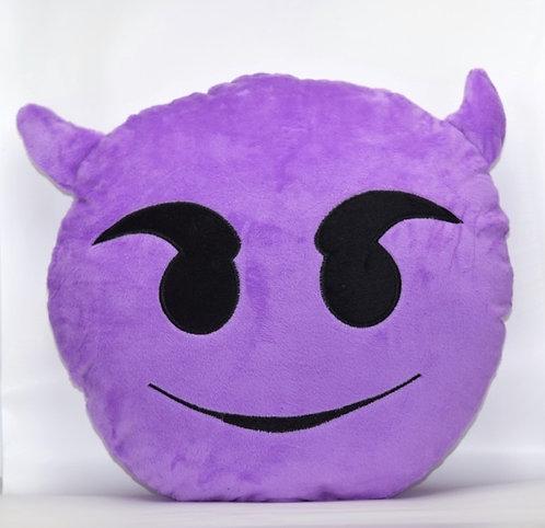 Little Devil Emoticon Pillow