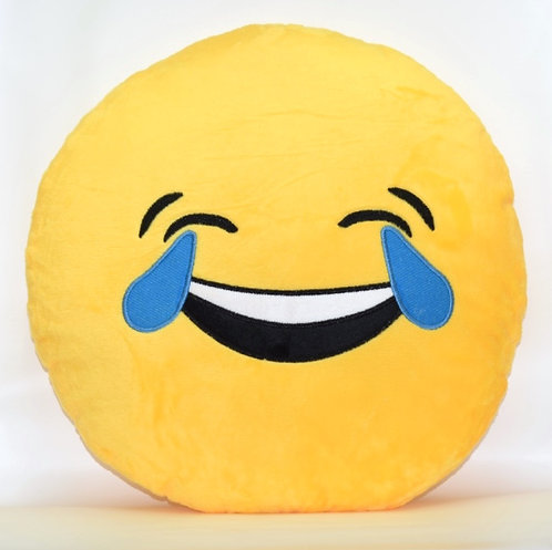 Tears of Happiness Emoticon Pillows