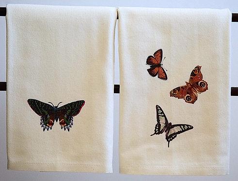 Butterfly Towel Set
