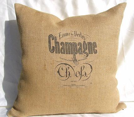 Champagne Burlap