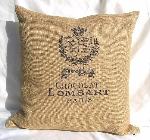 Chocolat Burlap