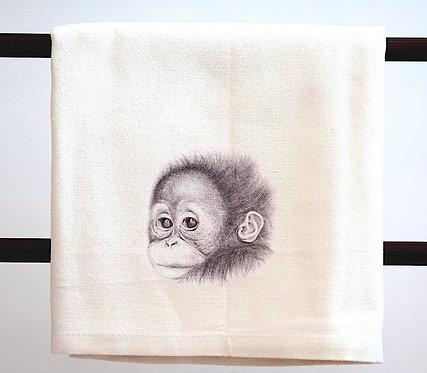 Orangutan baby- Fuzz Grey