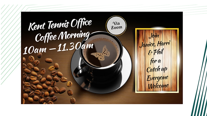 Kent Tennis Coffee Morning Header Right