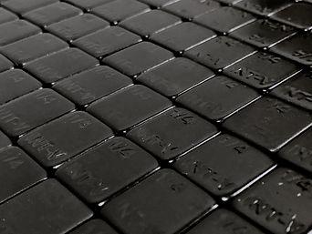Contrapeso adhesivo profesional INTER-V 50 piezas (I-CAIV251250 BLACK)