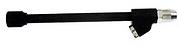 Inyector de aire STD dual poliuretano negrohembra