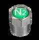 Tapón metálico de nitrógeno N2
