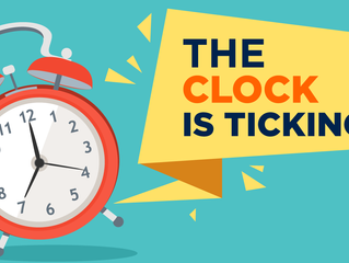 The Clock Is Ticking !!