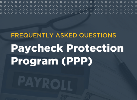 Paycheck Protection Program Loan FAQS