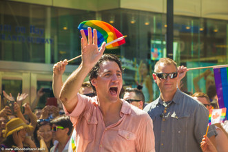 Hamilton event photographer, Justin Trudeau, street parade, gay pride Toronto.