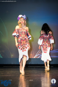 Ukrainian runway show at Miss Ukraine Canada.  Hamilton event photographer.