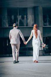 City Hall weddings, bride and groom, Hamilton wedding photographer