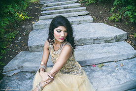 Indian wedding dress, bride, Hamilton wedding photographer