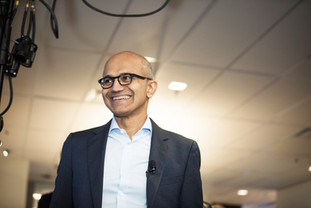 Satya Nadella Microsoft CEO, Hamilton event photographer.