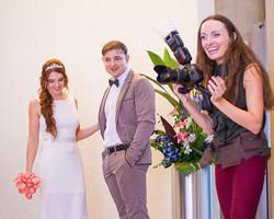 Wedding photographer in Toronto BTS Emot