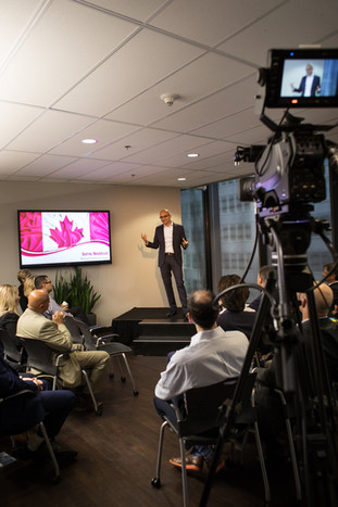 Microsoft CEO Satya Nadella, Hamilton event photographer.