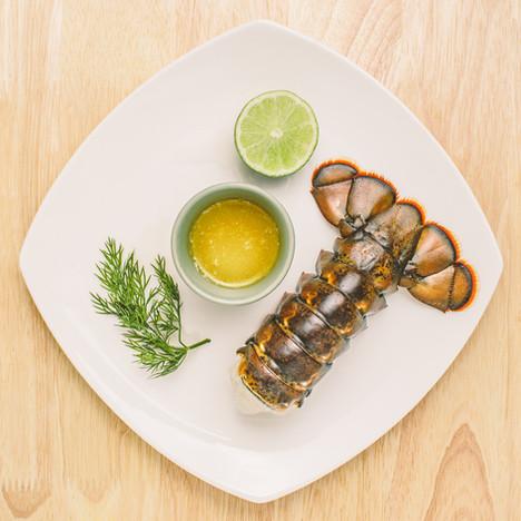 Lobster tail Hamilton Food Photographer.