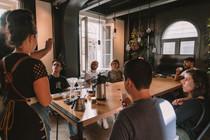 Experiência Sensorial de Café, com Eurico Albrecht, do Café República