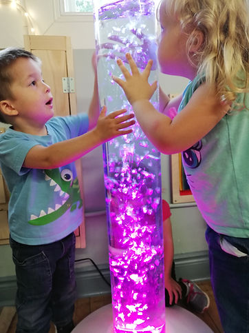 Children playing in Multi Sensory Corner