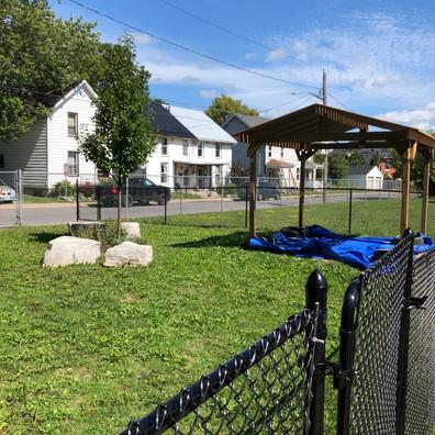 Helen Tufts Nursery School Outdoor Play Area