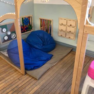 Helen Tufts Nursery School Quiet Corner