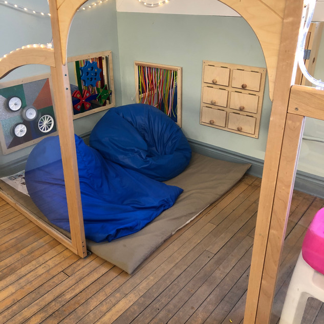 Helen Tufts Nursery School Quiet Corner