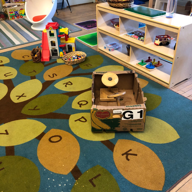 Helen Tufts Nursery School Carpeted Play Area