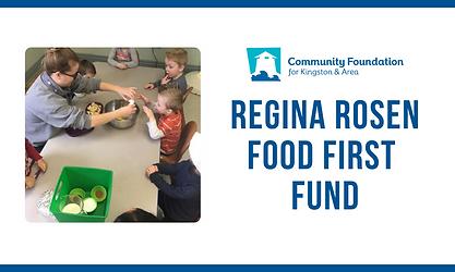 Regina Rosen Food Grant