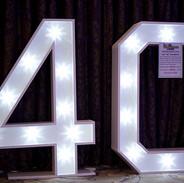 40 LED Number