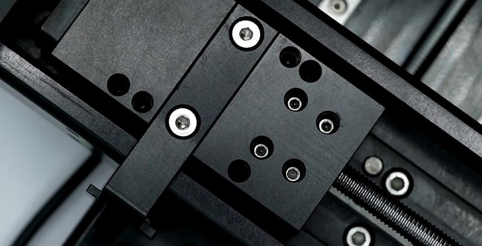 Small precision actuator table video