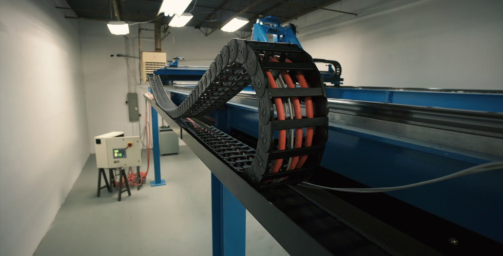 Large 3 axis gantry