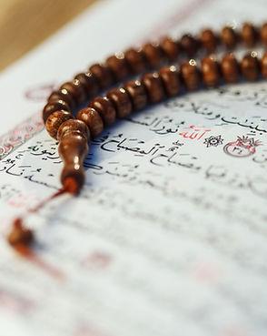 Quran and Prayer Beads