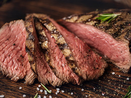 Balsamic-Glazed Bison Sirloin Steaks