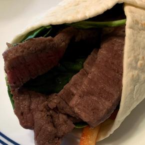 Chimichurri Steak Wrap