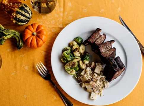 Thyme Rubbed Bison Short Ribs