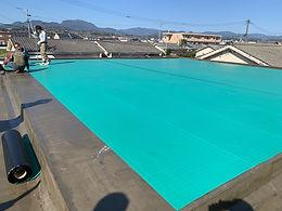 屋上防水改修工事X-1工法