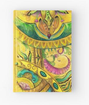 Baroque Organic Hardcover Journal