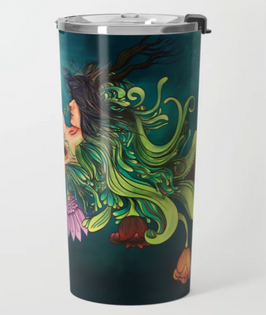 "Termo ""Metamorfosis"" / Metamorphosis travel mug"