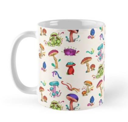 "Taza ""Hongos"" / Mushrooms Mug"