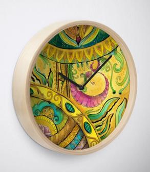 Baroque Organic Clock