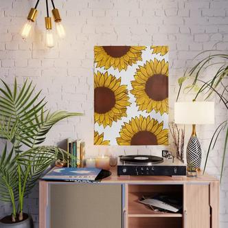 Girasoles / Sunflower Poster