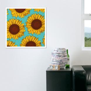 Print de Girasol / Sunflower art print