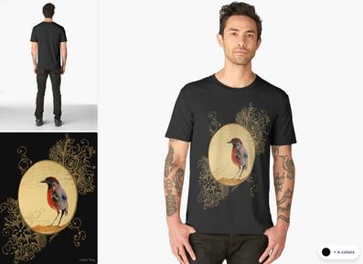 """Playera """"Ave 1"""" / Birds 1 T-Shirt"""