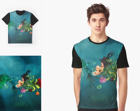 """Playera """"Metamorfosis"""" / Metamorphosis Graphic T-Shirt"""