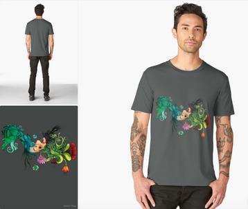 "Playera ""Metamorfosis"" / Metamorphosis T-Shirt"