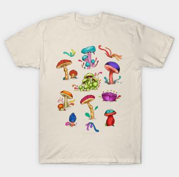 """Playera """"Hongos"""" / Mushrooms T-Shirt"""