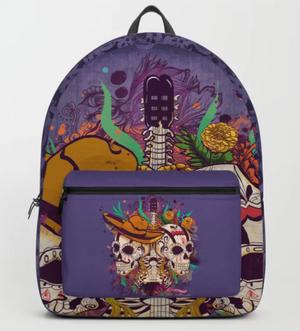 "Mochila ""Día de muertos"" / Day of the dead Backpack"