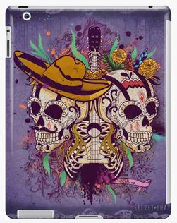 """Carcasa para iPad """"Día de Muertos"""" / Day of the dead iPad Cases & Skins"""