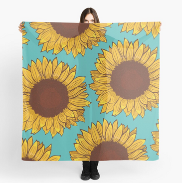 Bufanda de Girasol / Sunflower Scarf
